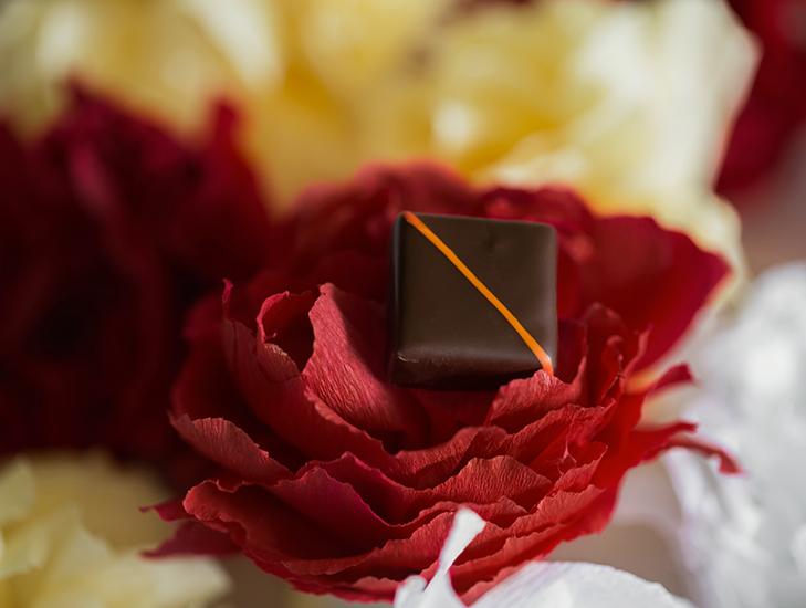 """Orangeraie - Collection """"Au coeur des jardins de Paris"""" (Saint Valentin 2018) par La Maison du Chocolat (Nicolas Cloiseau)"""