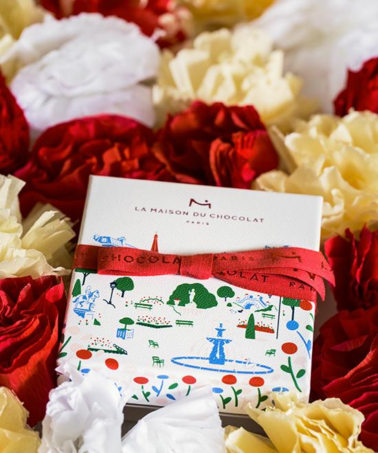 Au coeur des jardins de Paris - Collection Saint Valentin par La Maison du Chocolat (Nicolas Cloiseau)