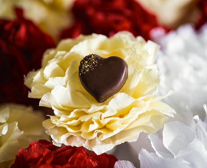 """Gingembre Zesté - Collection """"Au coeur des jardins de Paris"""" (Saint Valentin 2018) par La Maison du Chocolat (Nicolas Cloiseau)"""