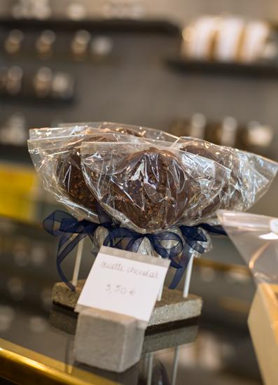 KL Pâtisserie - Sucettes chocolat