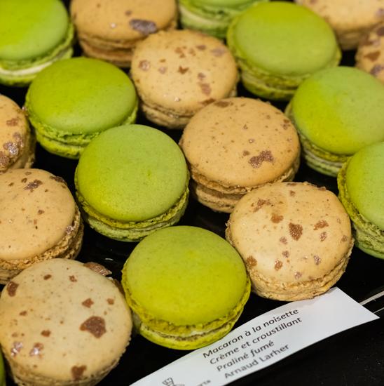 Jour du Macaron - Macaron noisette & Bergamote/citron jaune Arnaud Larher