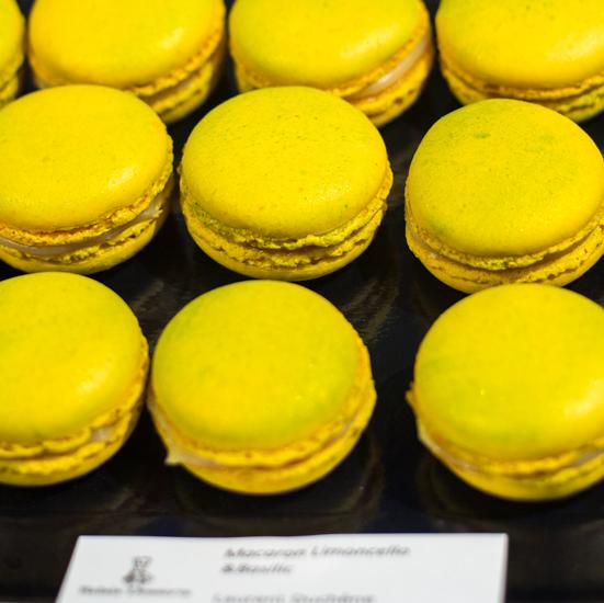 Jour du Macaron - Macaron Limoncello & Basilic par Laurent Duchêne