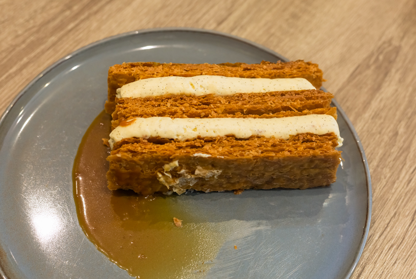 KL Pâtisserie - Mille-feuilles vanille & caramel demi-sel