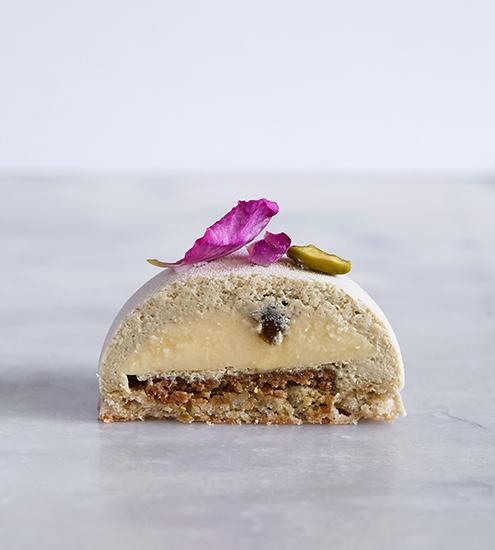 Des Gâteaux et du Pain par Claire Damon - Shahzadeh (alliance rose et pistache)