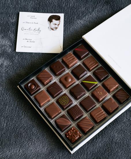 Quentin Bailly - Boîte de bonbons chocolat