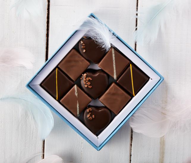 Saint Valentin 2019 - La Maison du Chocolat (Nicolas Cloiseau) - Coffret Vertige