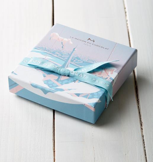 Saint Valentin 2019 - La Maison du Chocolat (Nicolas Cloiseau) - Packaging