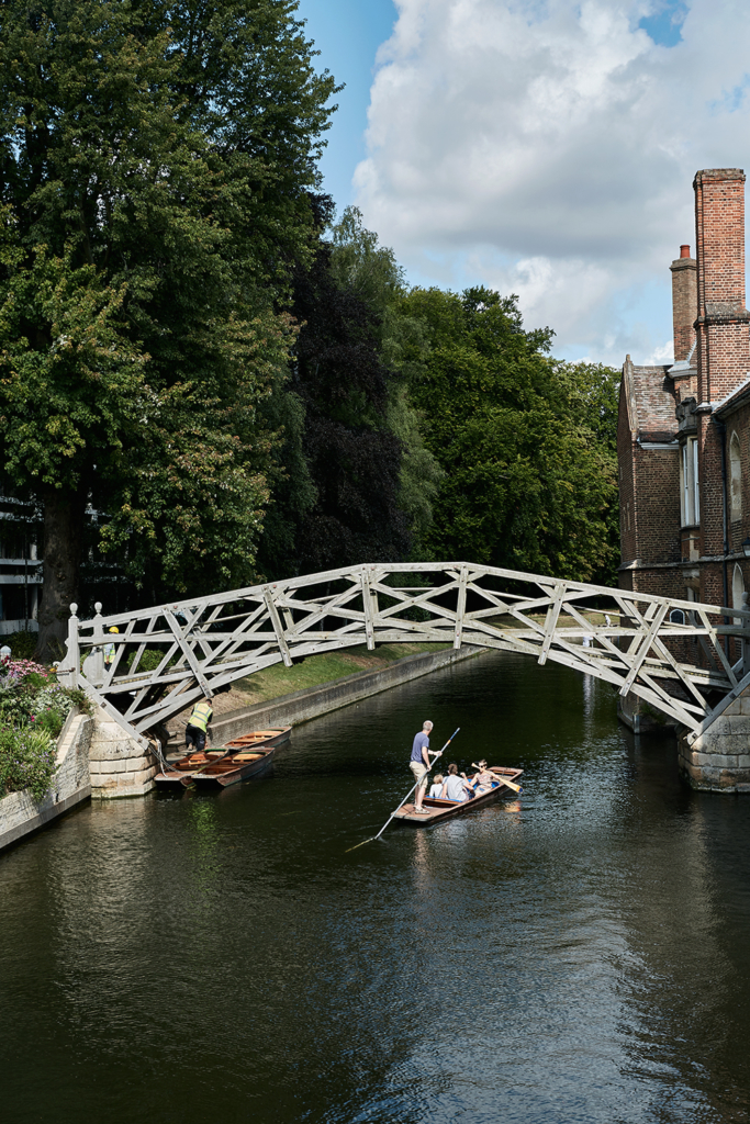 Mathematical Bridge - Cambridge England