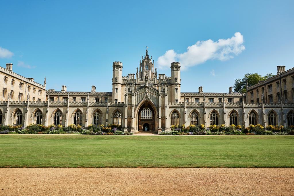 Saint John's College Cambridge England