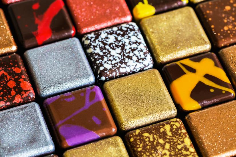 Chocolats par Choco au carré (Jean-Pierre Rodrigues)