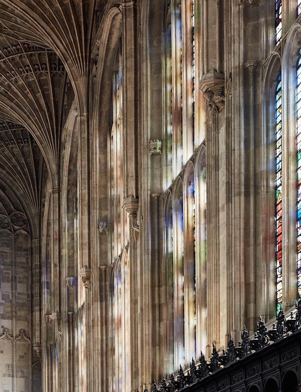King\'s College Church - Cambridge (England)