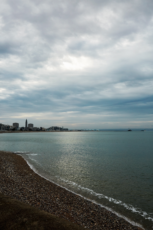 Le Havre Sainte Adresse Plage mer soleil