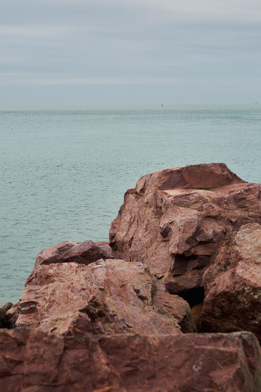 Le Havre - Port - Vue sur mer