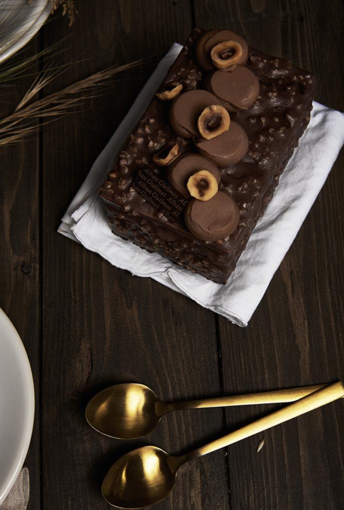 Alban Guilmet - Cake chocolat praliné