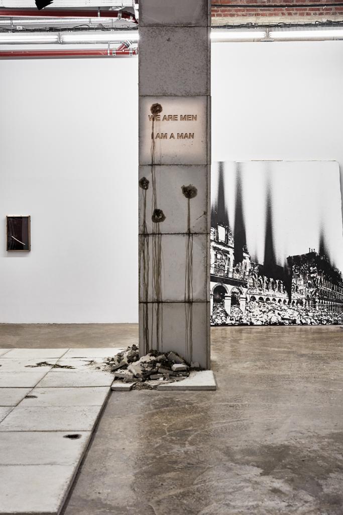 Notre monde brûle, Nicolas Daubanes - L'huile et l'eau (Palais de Tokyo, 2020)